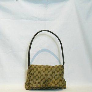 Gucci Monogram Shoulder Flap Bag